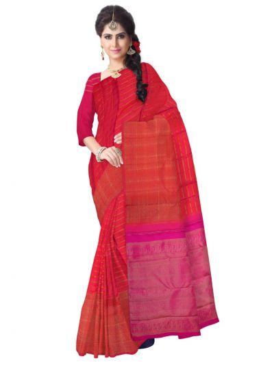 LLD6676544 - Vivaha Goddess Pure Silk Saree