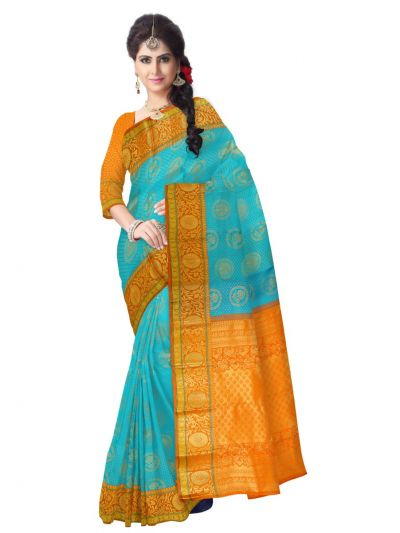Vivaha Bridal Kanchipuram Silk Saree - MAA0390817
