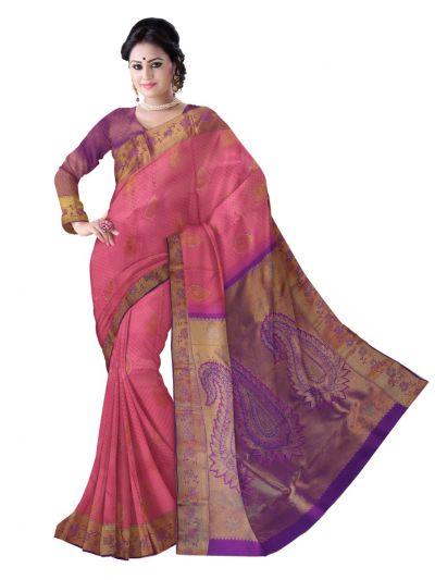 Vivaha Exclusive Wedding Silk Saree With Stone Work - MAA0471218