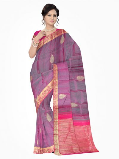 MAA0604596-Vivaha Kanchipuram Wedding Pure Silk Saree