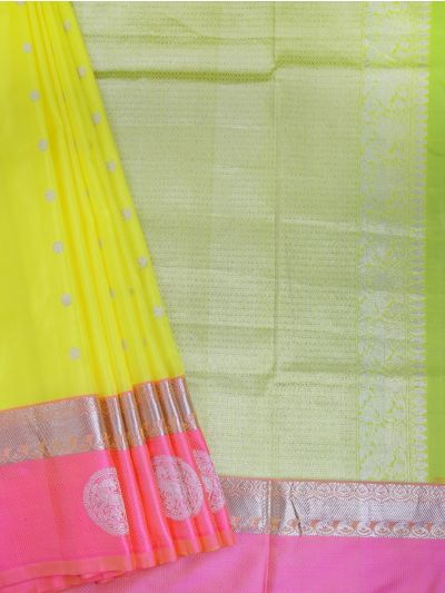 Vipanji Handloom Pure Soft Silk Saree