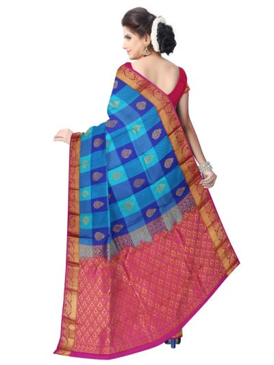 Bairavi Traditional Uppada Silk Saree-MAB0646977