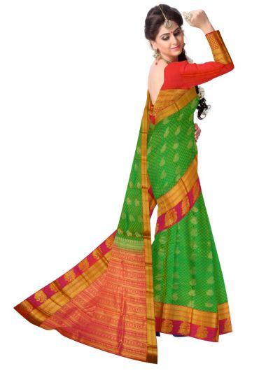 MAB0768592 - Bairavi Traditional Uppada Silk Saree