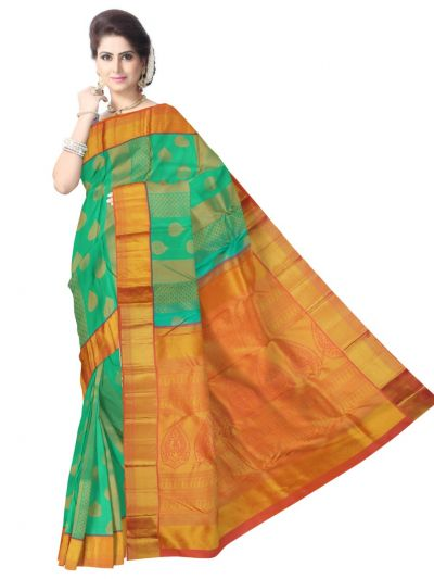 MAB1135141-Vivaha Wedding Kanchipuram Silk Saree
