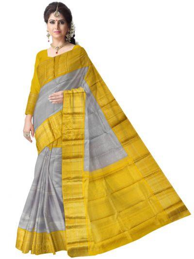 Vivaha Goddess Pure Kanchipuram Handloom Silk Saree - MAC2341069