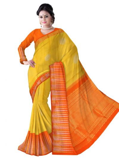 Estrila Handloom Wedding Kanchipuram Silk Saree