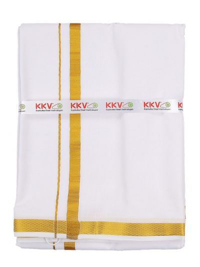 MAD3616681 - KKV Cotton Dhoti With Towel