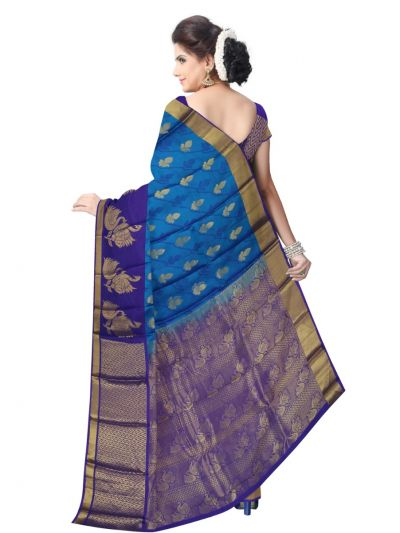 Bairavi Traditional Uppada Silk Saree - MAE4137509