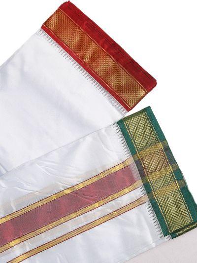 MCA8111183 - Vivaha Mayil Kan Handloom Silk Dhoti