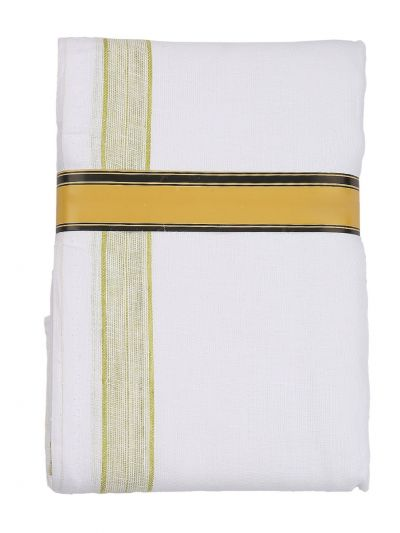 KKV Pure Linen Dhoti