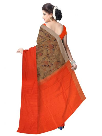 MCD0577817-Kyathi Exclusive Linen Fancy Silk Saree