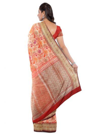 MDD2744688 - Kyathi Handloom Banarasi Silk Saree