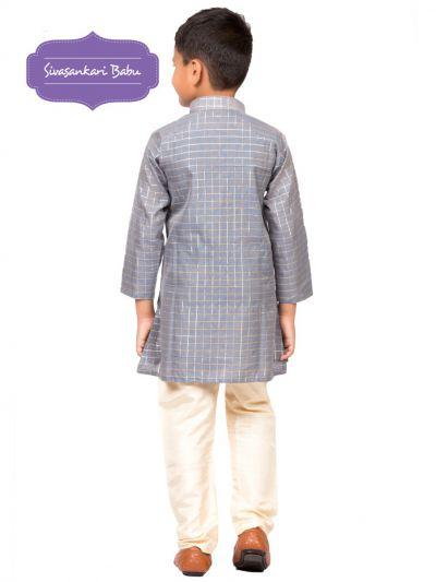 Sivasankari Babu Ethnic Wear Boys Kurta Pyjama Set - MDC1976999