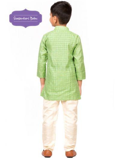 Sivasankari Babu Ethnic Wear Boys Kurta Pyjama Set - MDC1977005