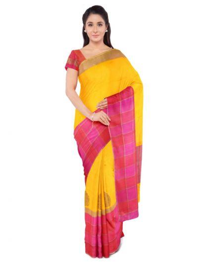 MDD2744690 - Kyathi Handloom Banarasai Silk Saree