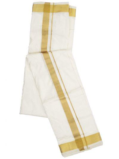 MDE3994238 - Vivaha Pure Silk Dhoti With Towel