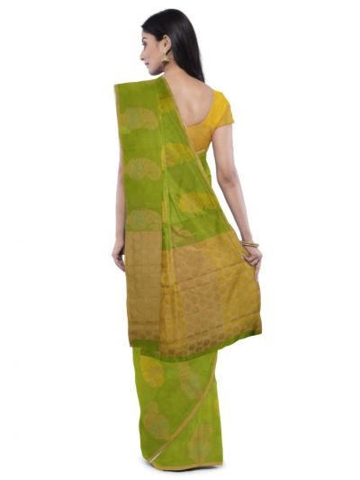 Sahithyam Dupion Tussar Silk Saree - MEA4597555