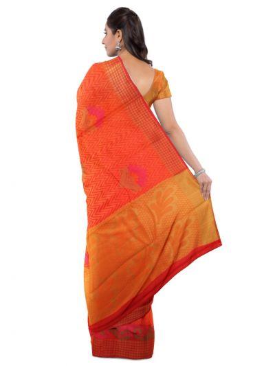 Sahithyam Dupion Tussar Silk Saree - MEA4597560