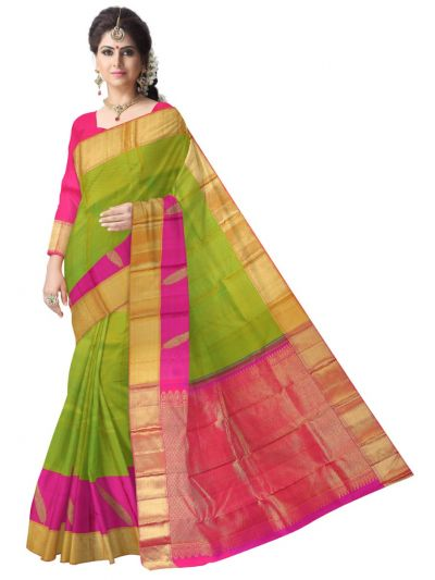 Vivaha Exclusive Wedding Silk Saree - MEA5377592