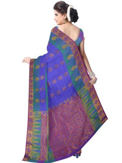Bairavi Gift Art Silk Saree With Stone Work-MEA5456764
