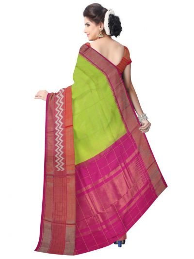 MEB6305417 - Pochampally Ikat Silk Saree