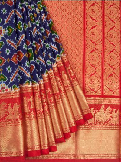 Pochampalli Handloom Pure Ikat Silk Saree - MEB6305420