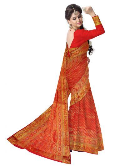 MEB6462502 - Vivaha Wedding Stone Work Silk Saree