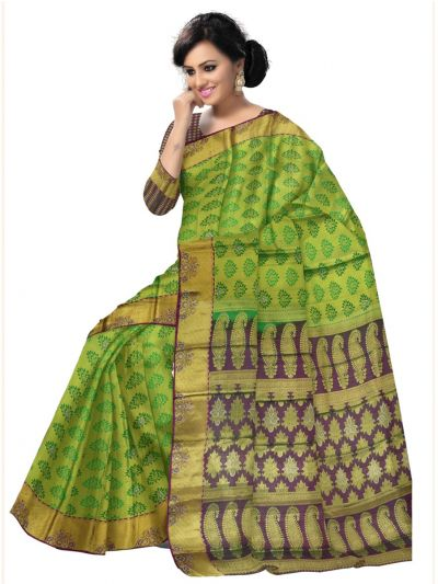 MEB67071707 - Vivaha Stone work Silk Saree