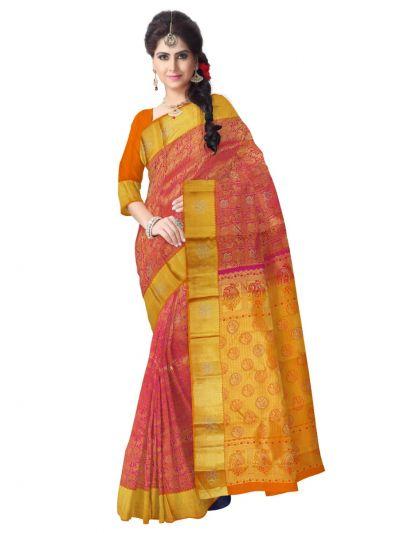 Vivaha Wedding Kanchipuram Silk Saree With Stone Work Design-MEB6462852