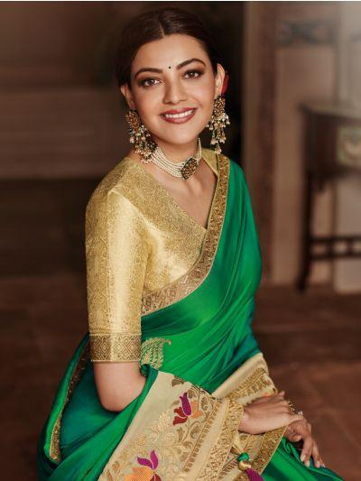 Exclusive Designer Party Wear Saree With Designer Blouse - MEC7871437