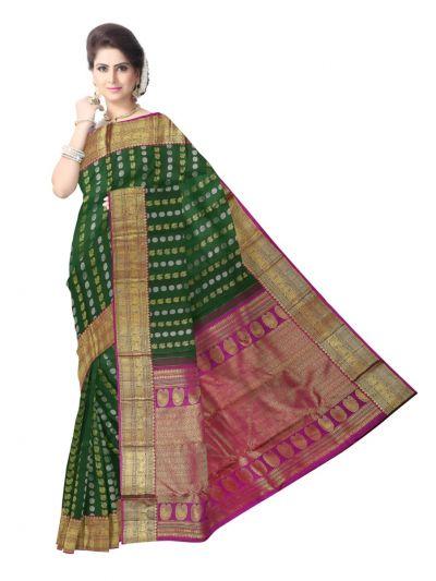 Vivaha Exclusive Wedding Silk Saree - MED9055018
