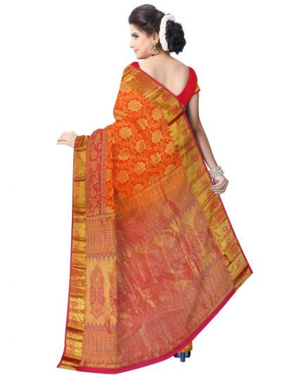 Bairavi Traditional Wedding Silk Saree - MFA0086895