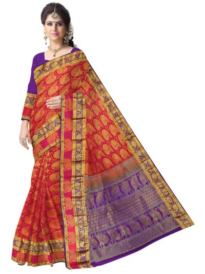 Bairavi Traditional Wedding Silk Saree - MFA0086898