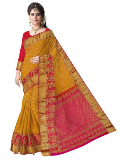 Bairavi Traditional Wedding Silk Saree - MFA0086903