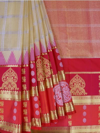 Wedding Pure Organza Silk Saree - MFA0151865