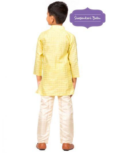 Sivasankari Babu Ethnic Wear Boys Kurta Pyjama Set - MFB6303513
