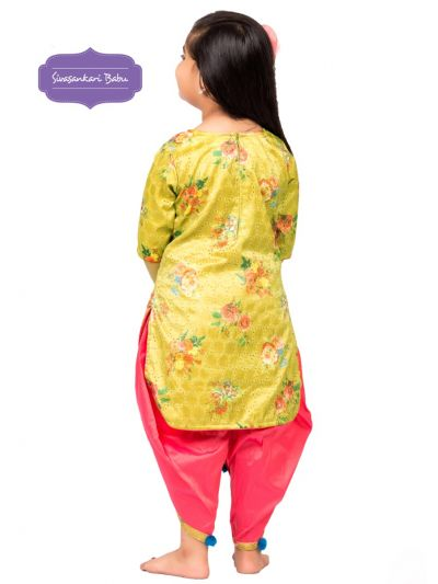 Sivasankari Babu Girls Hakoba Design Salwar Kameez - MGB9085907