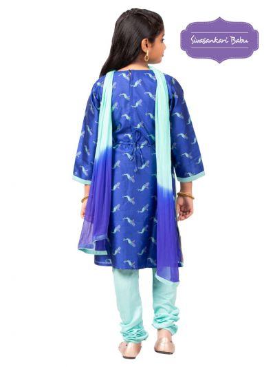 Sivasankari Babu Girls Salwar Kameez - MGB9596663
