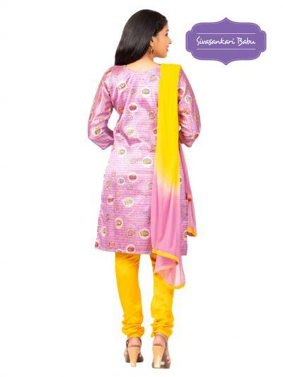 Sivasankari Babu Assam Silk Salwar Kameez - MGC0107496