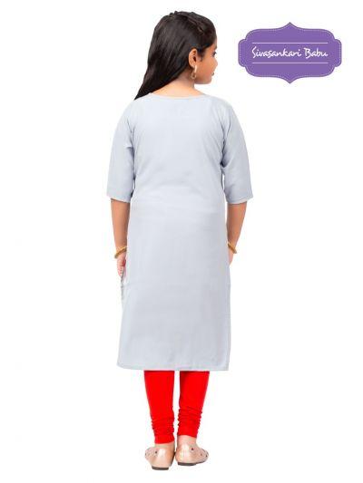 Sivasankari Babu Girls Tops - MIC3692235