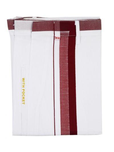 KKV Velcro Men Cotton Dhoti - NGD2813289