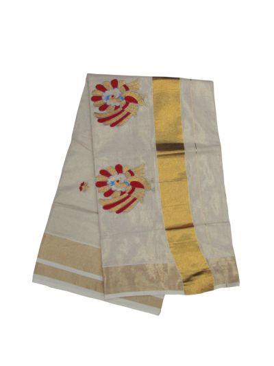 Women's Kerala Traditional Saree - EKM - NLA4931476