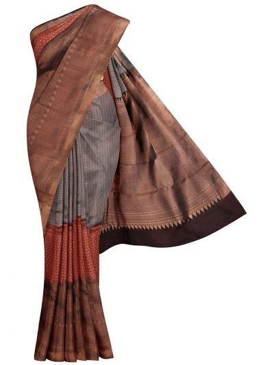 Vivaha Goddess Pure Kanchipuram Silk Saree- MKA8491406