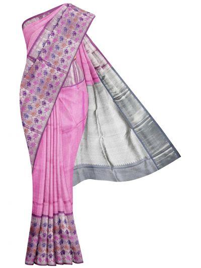 MKC9848619 - Exclusive Pure Silk Tissue Saree
