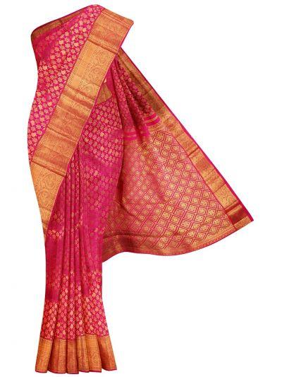 Vivaha Goddess Kanchipuram Pure Silk Saree - NCB0130651