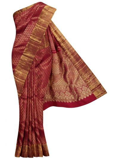 Vivaha Goddess Kanchipuram Silk Saree- NCB0139046