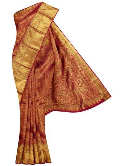 Vivaha Goddess Pure Kanchipuram Silk Saree - NCD0422344