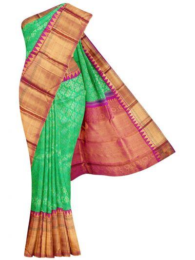Vivaha Goddess Pure Kanchipuram Silk Saree - NDB0915250