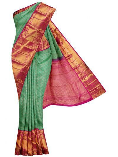 NDB0915908- Vivaha Goddess Pure Kanchipuram Silk Saree