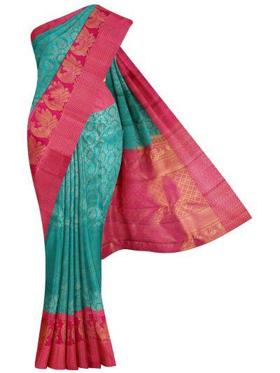 Vivaha Goddess Pure Kanchipuram Silk Saree - NEC2484409